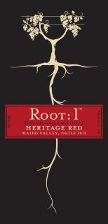 Root:1 Heritage Red NV Label