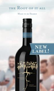 Root:1 Carmenere Tasting Card NEW LABEL
