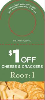 $1 off Cheese & Crackers NPR IRC [FY19]