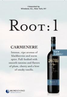 New Carmenere Shelf Talker