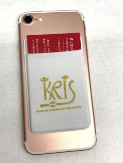 KRIS Cell Phone Stick on Wallet