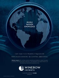 WInebow Imports Trade Ad