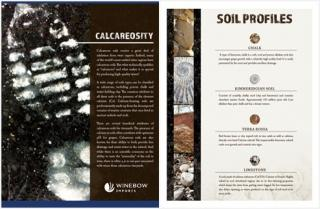 Calcareosity Tasting Talk Brochure