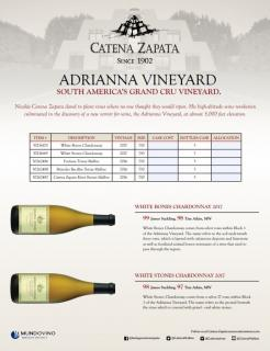 Catena Adrianna Vineyard Sell Sheet