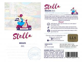 Stella Moscato IGT 2015 NEW Labels