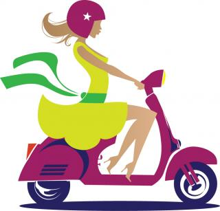Stella Moped Logo