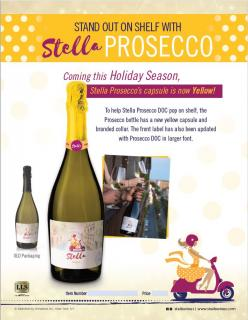Stella Prosecco Package Refresh! Holiday 2018