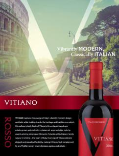 Vitiano Rosso Sell Sheet