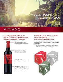 Vitiano Packaging & Positioning Update