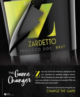 Zardetto Trade Ad for Beverage Media, Shanken Market Watch, and In The Mix - Fall 2019