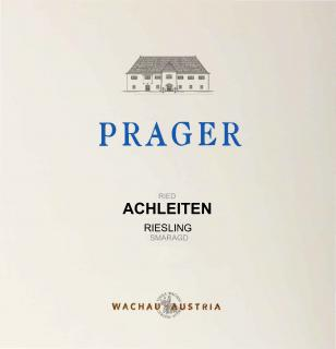 Riesling Ried Achleiten Smaragd Front Label