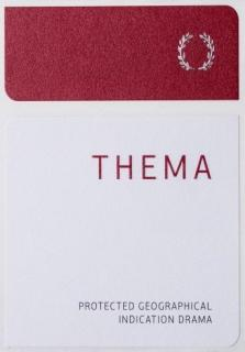 Thema Red Front Label