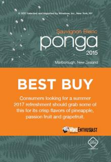 Ponga Best Buy Shelf Talker