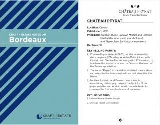 C+E Bordeaux Notes Booklet - Digital Copy