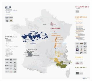 C+E French Portfolio Map 2019 - Digital Version