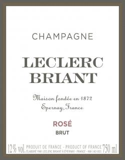 Brut Rose Front Label