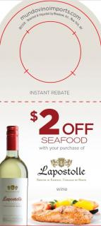 $2 off Seafood IRC [FY19]