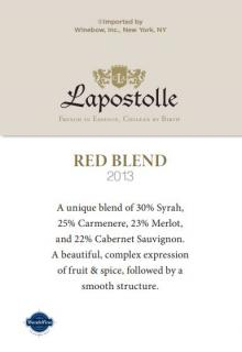 Lapostolle Red Blend 2013 Generic ST