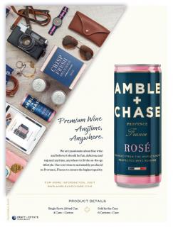 Amble + Chase Beverage Media Ad FY19