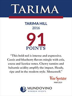 Tarima Hill 2016 91 Pts ST